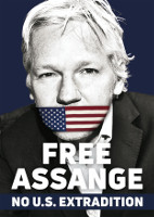 [Free Assange No U.S. Extradition]